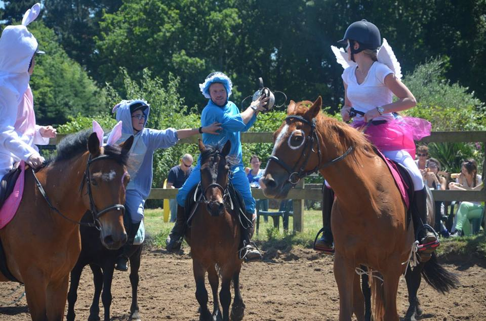 horse ball st brévin